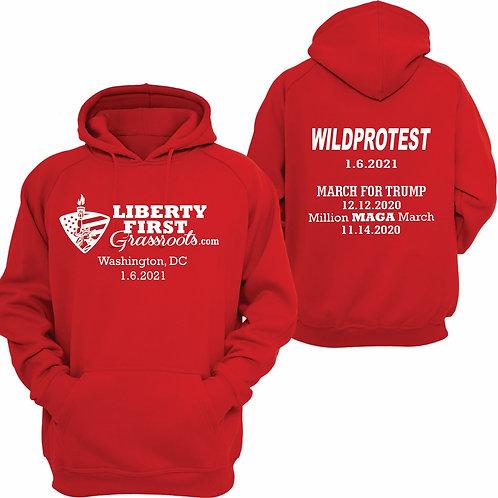 Wild Red Hoodie XL