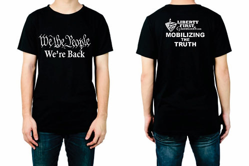 Black We The People Mobilizing The Truth T-Shirts