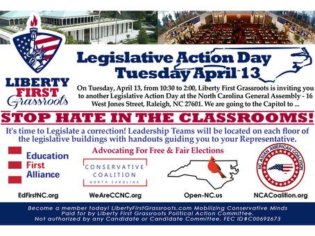 Legislative Action Day April 13