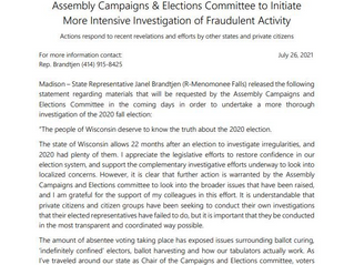 BREAKING BIG: Wisconsin Moves Forward with Election Forensic Audit …UPDATE: With Clements and Keshel