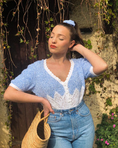 Crédits photos  Chouchou St-Tropez  Modèle : Daisy Duffes @mrs.daisybass  Photographe : Dominique @mrs.daisybass