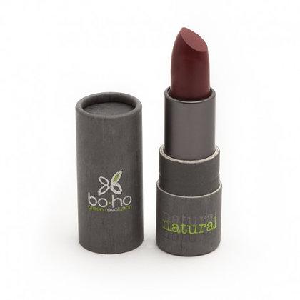 Rouge à lèvre Boho Green Make-up bio Mat couvrant 105 TAPIS ROUGE