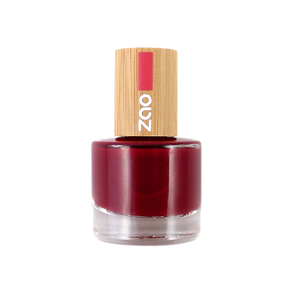 Vernis à ongle Zao 668 Rouge passion