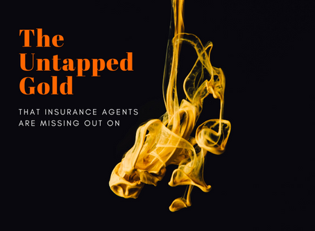 The Untapped Gold that Insurance Agents are Missing Out on