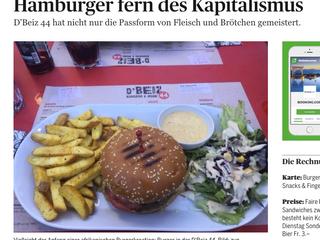 """Bericht im """"Der Bund"""""""