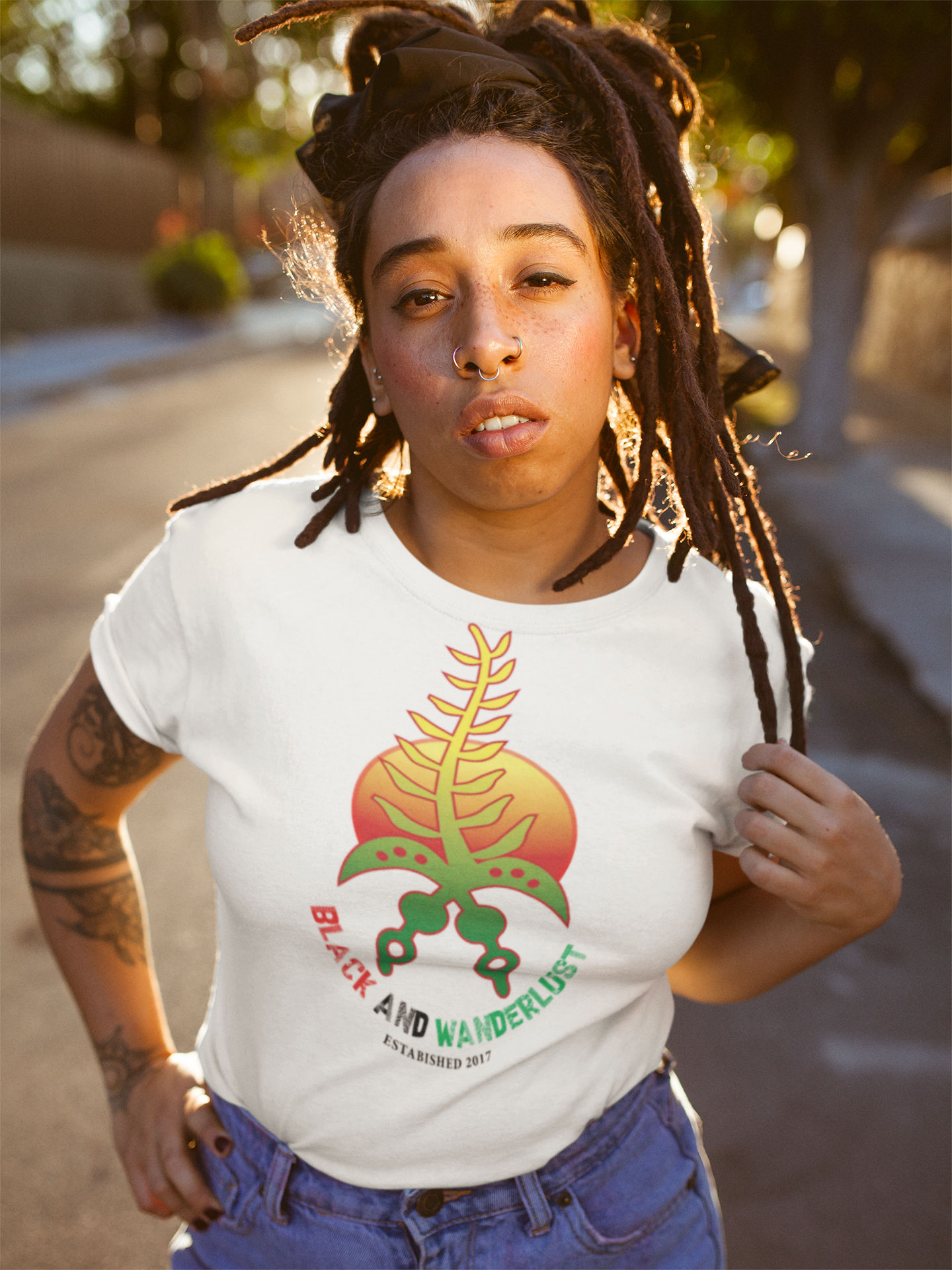 Marcus Garvey the OG Wanderlust Adult Tee