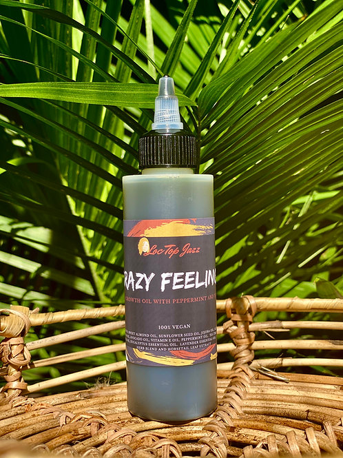 Crazy Feelings: 12 in 1 Growth Oil with Peppermint and Tea Tree