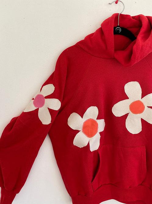 love flowers hoodie