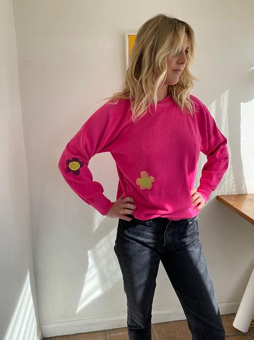 minimal pink sweater