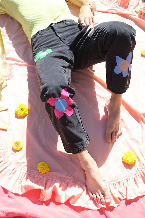 flower work pants