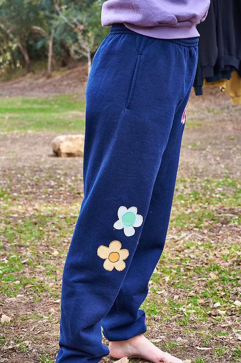 navy blue sweat pants