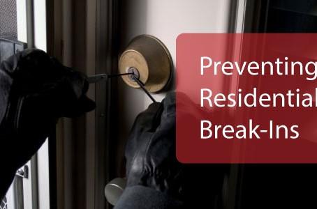 Preventing Residential Break-Ins