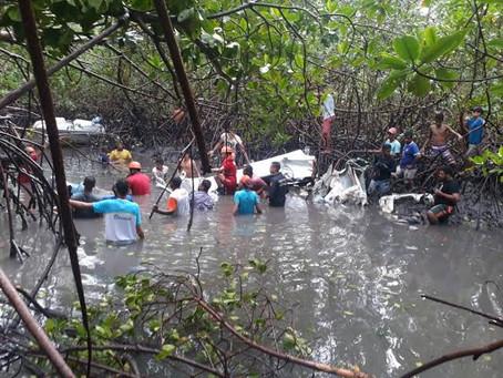 Após perícia, parte de avião que caiu com Gabriel Diniz é devolvida ao Aeroclube de Alagoas