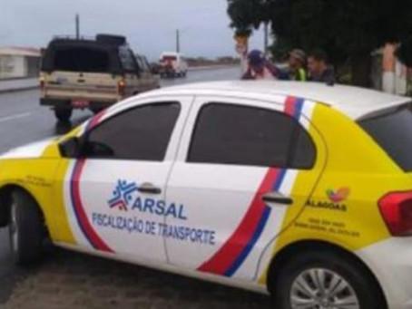 Arsal realiza fiscalização contra transportes clandestinos no Sertão