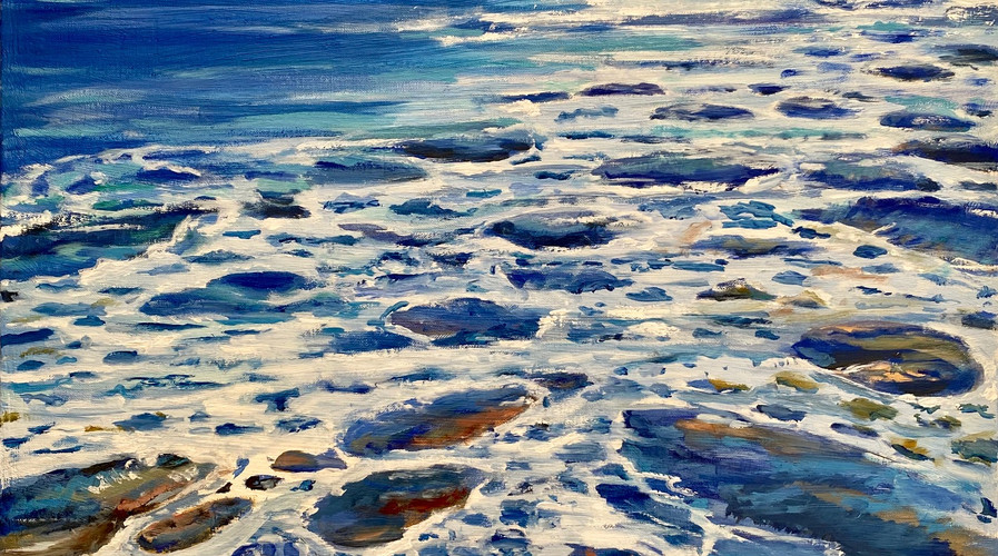 La vague bleue