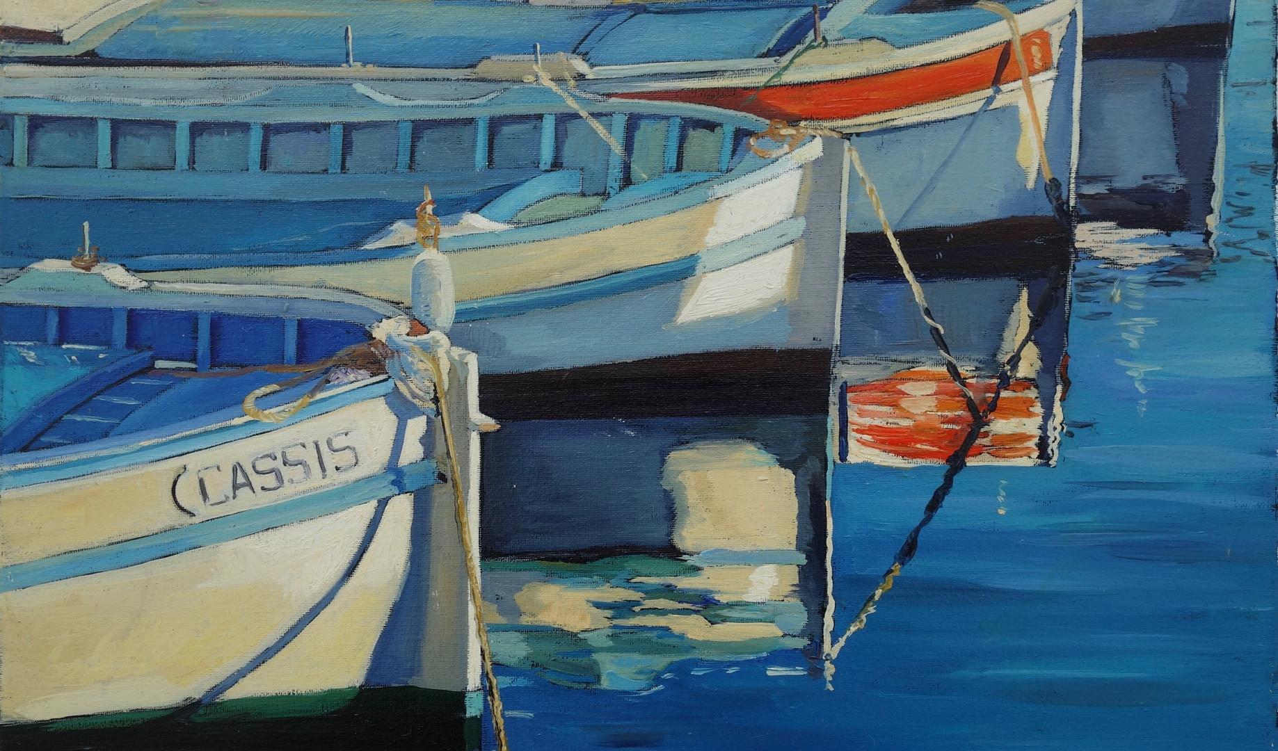 Barques à Cassis