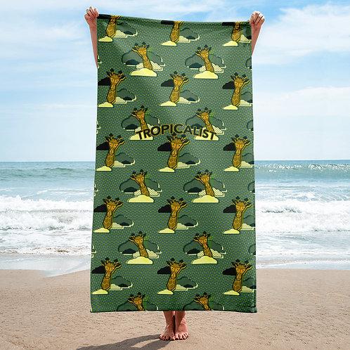 Girafe Safari Wax Towel