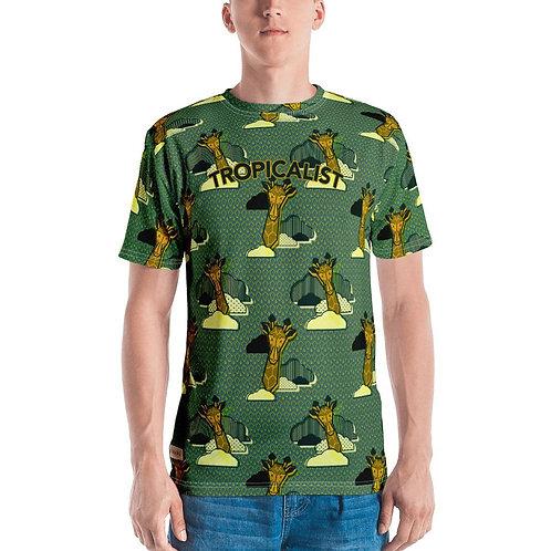T-shirt Safari Wax Girafe (Homme)