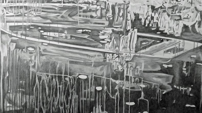 Dessiner la peinture - Dans la forêt 9, étape 1