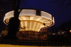 Manège au jardin Tivoli