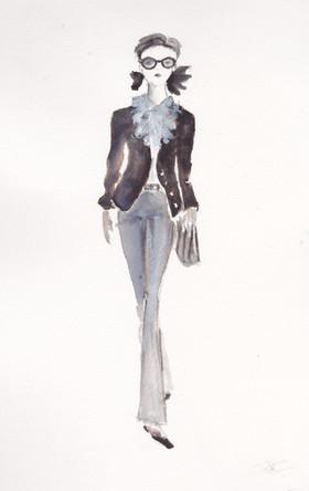 """Mademoiselle"" inspiration Chanel"