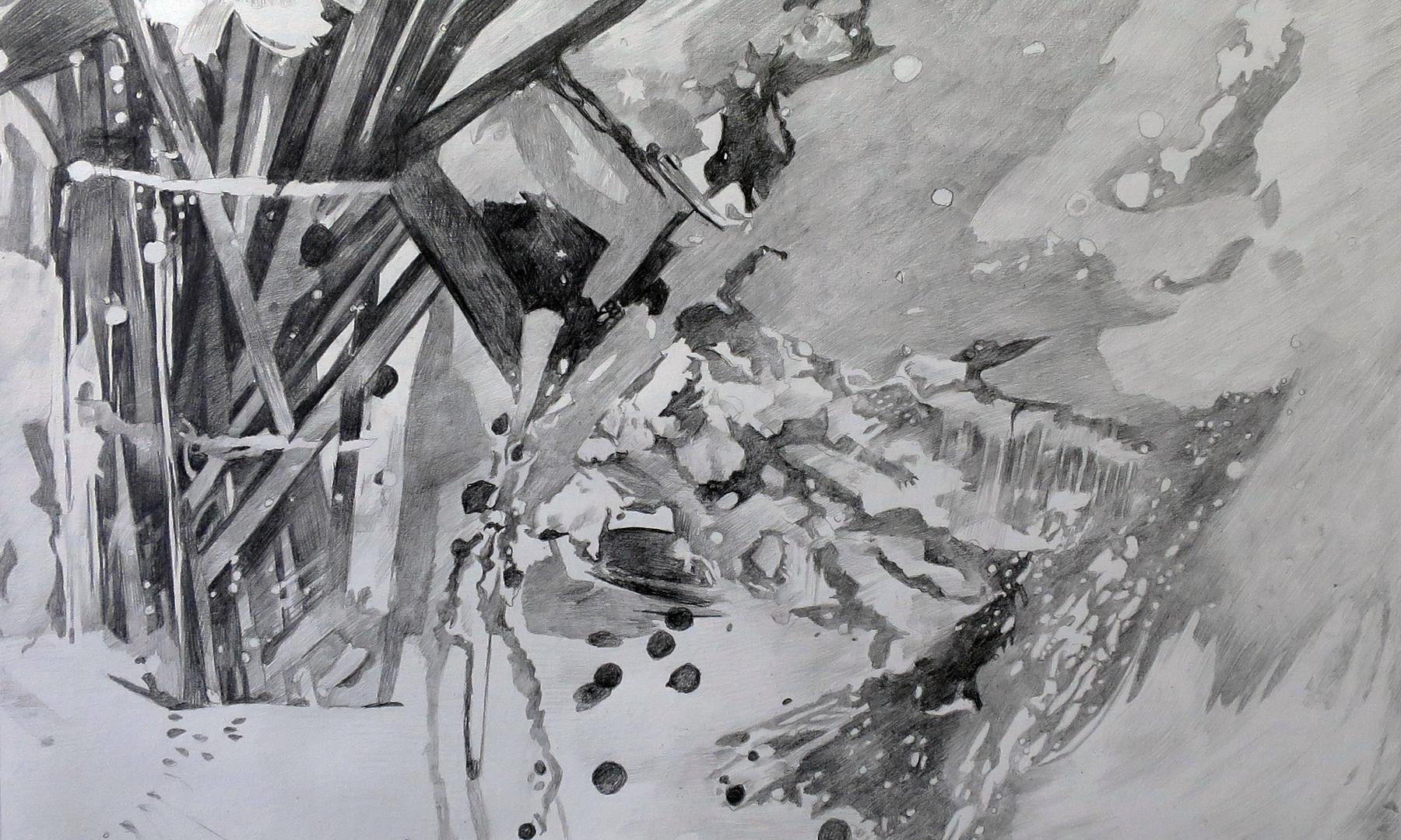 Dessiner la peinture 20 - L'Art de la peinture, XXXIII, La Connaissance (détail)