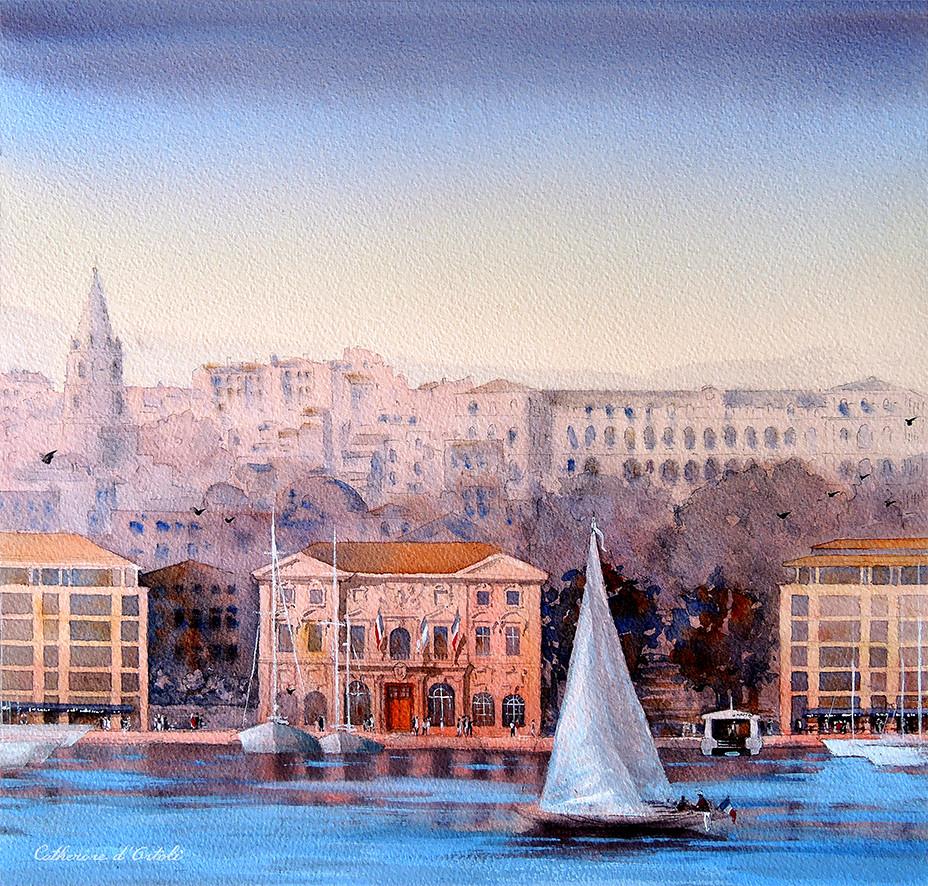 Le quai du port - Marseille