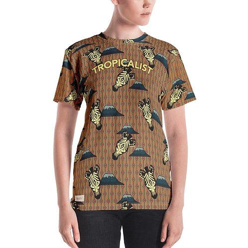 T-shirt Safari Wax Zebre (Femme)