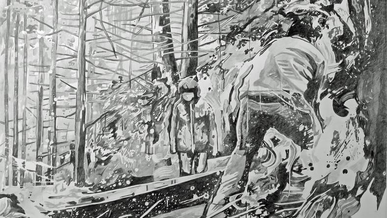 Dessiner la peinture - Dans la forêt 2, étape 6