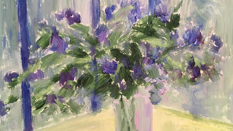 Bouquet dans l'atelier