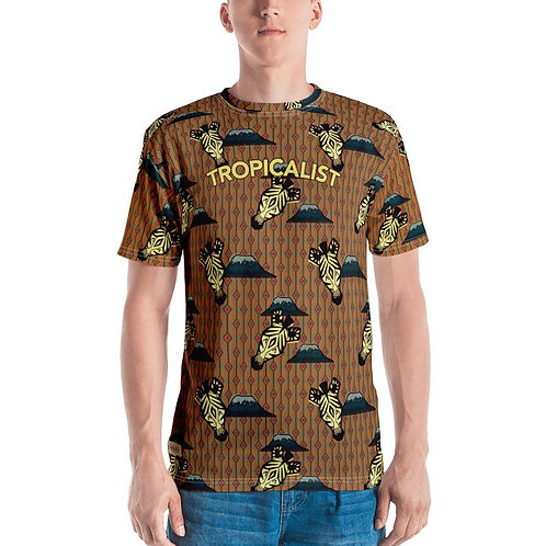 T-shirt Safari Wax Zebre (Homme)
