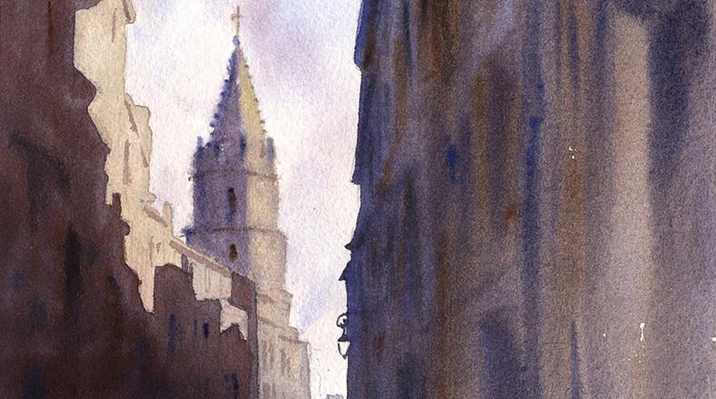 La montée des Accoules - Marseille