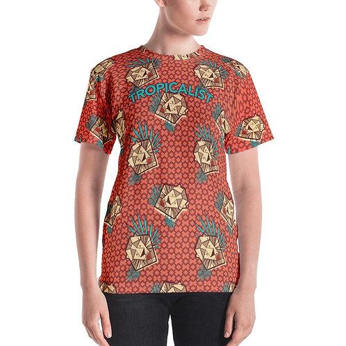 T-shirt Safari Wax Lion (Femme)