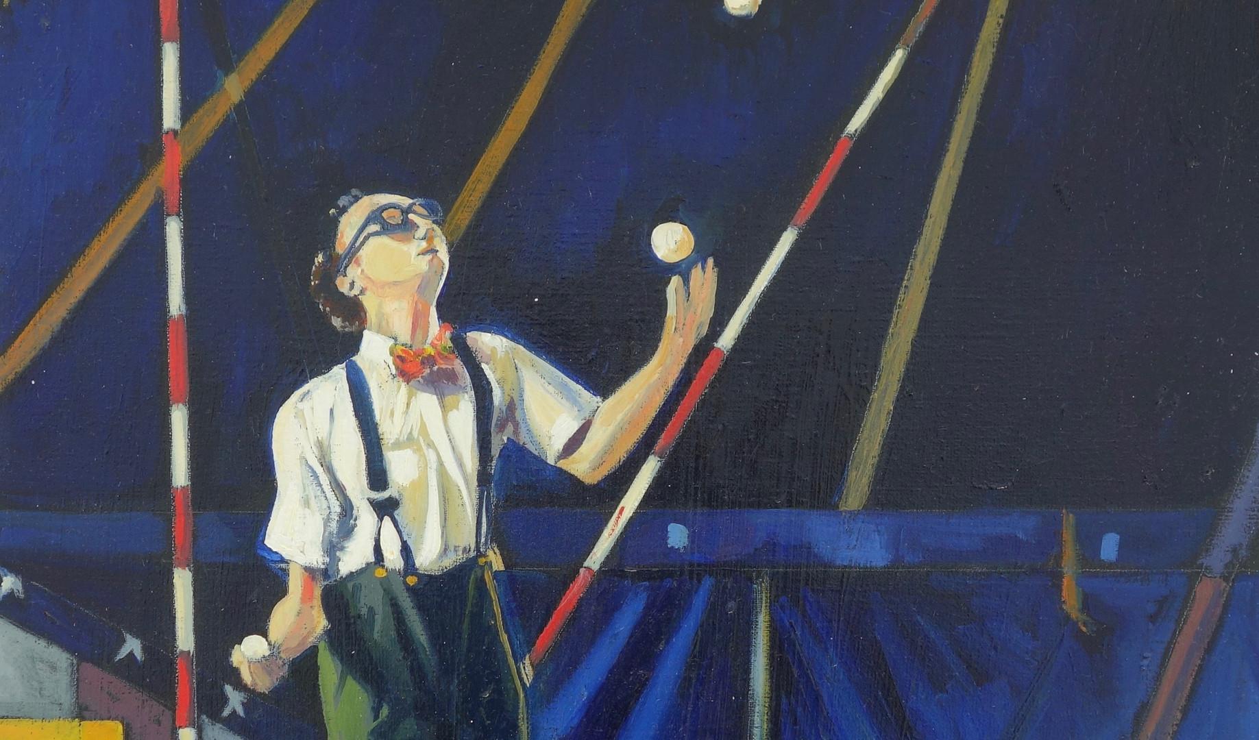 Le jongleur aux bretelles