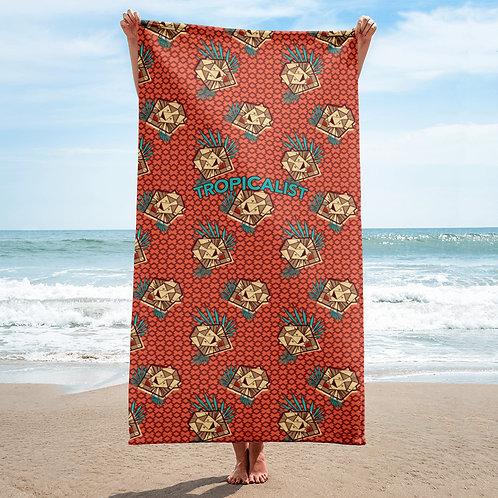 Lion Safari Wax Towel