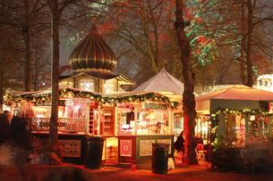 Kiosque au jardin de Tivoli