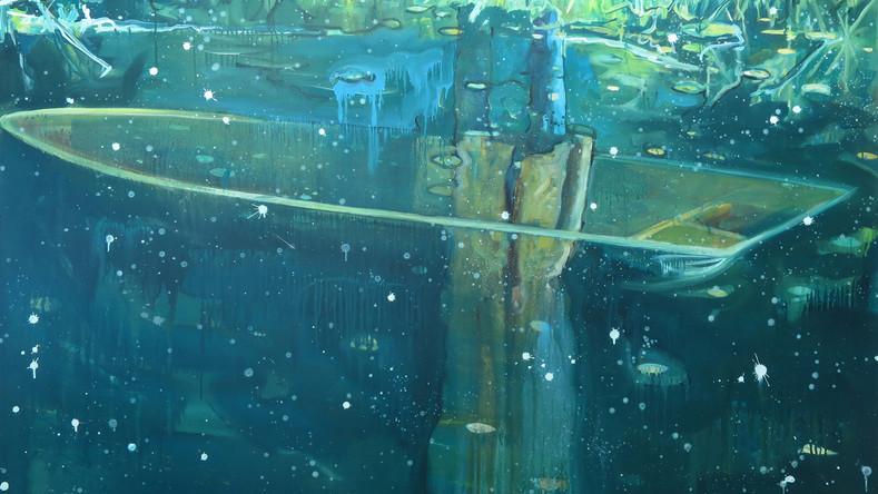 Peinture à dessiner 9, d'après le film de Gilles Marchand Dans la forêt