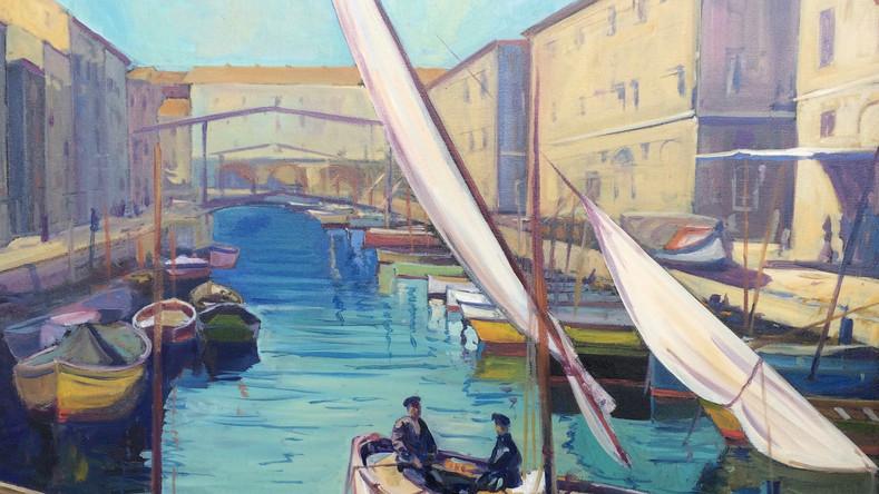 Le quai du canal de la Douane