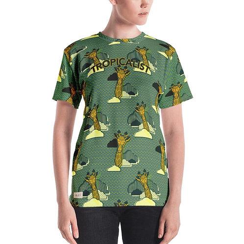T-shirt Safari Wax Girafe (Femme)