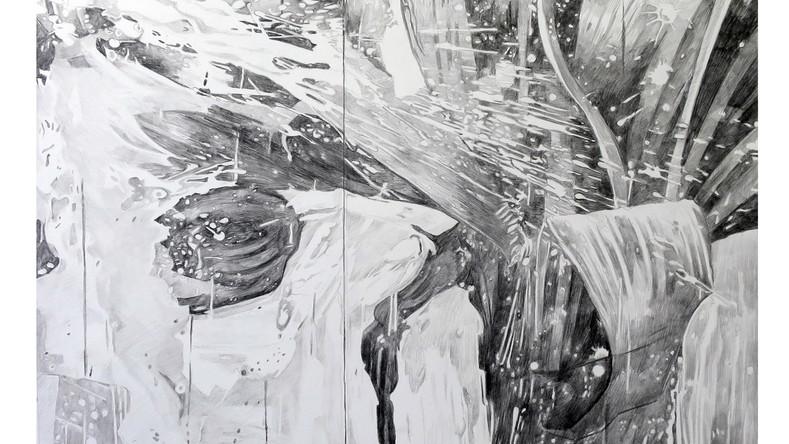 Dessiner la peinture 21 - L'Art de la peinture, LXI, L'Action (détail)