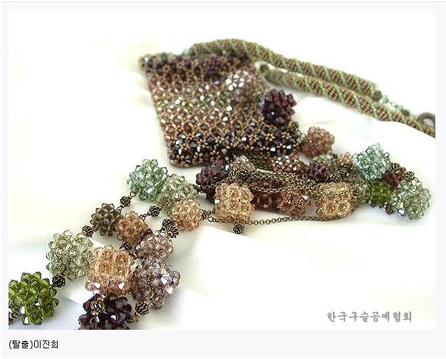 2003 한국구슬공예대전 수상작품 17