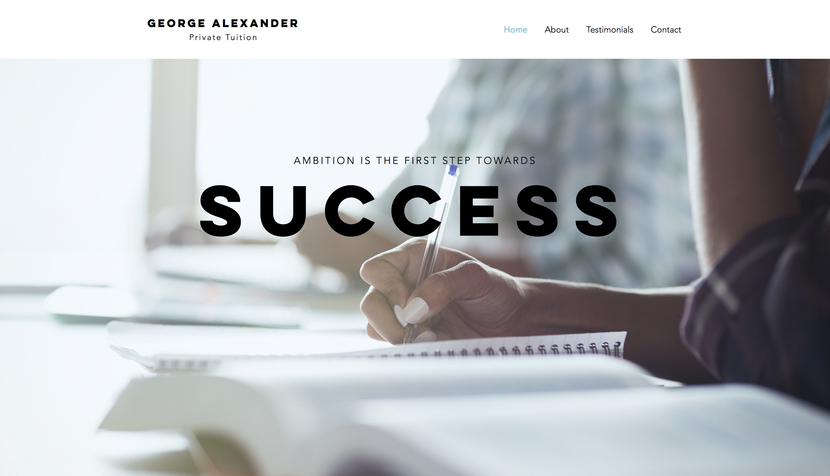 Peter Alexander Tuition
