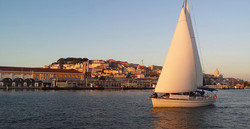 historic lisbon by the river