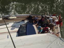 joy sailing in lisbon