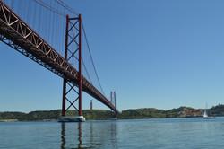 lisbon bridge in alcantara