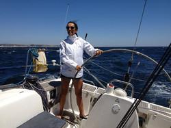 girl skipper on harfang