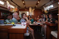 comfort in a lisbon sailing tour