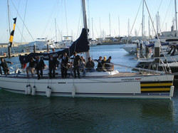 team building sailing in lisbon
