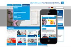 website drukkerij leufgens