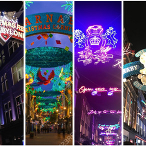 倫敦 SOHO 街區 | Carnaby Street 聖誕裝置藝術